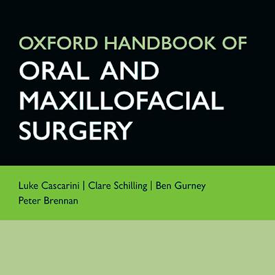 Oxford Handbook of Oral and Maxillofacial Surgery PDF