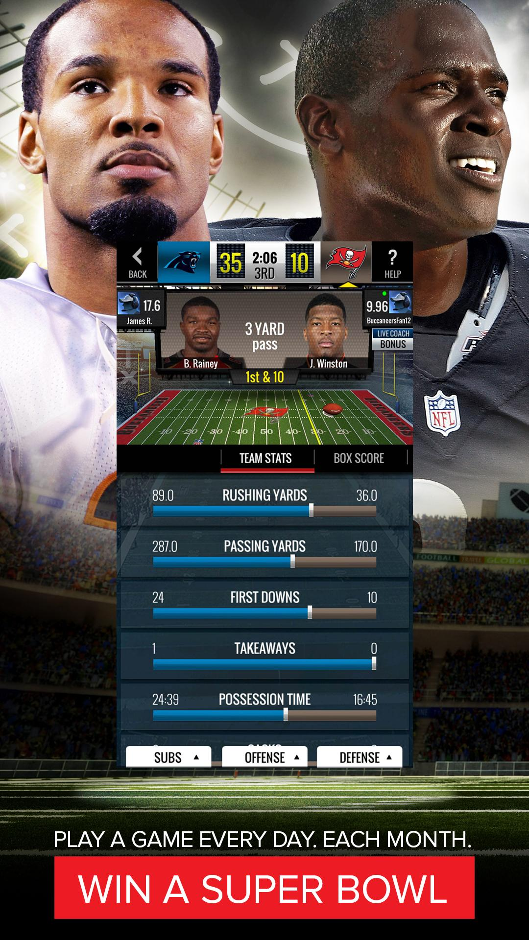 NFL Showdown: Football Manager screenshot #2