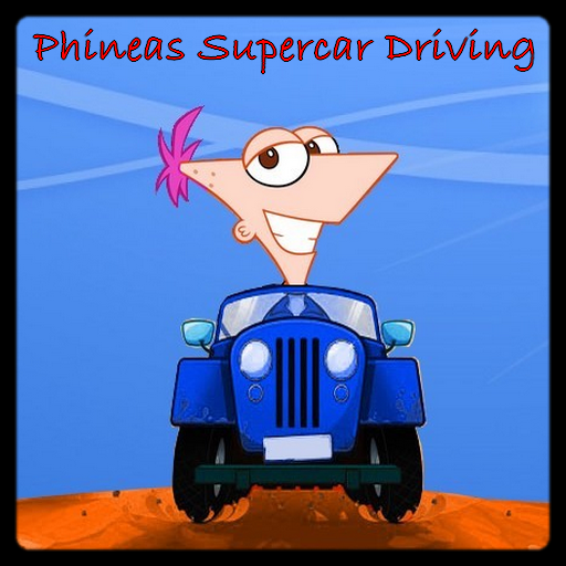 Phineas Supercar Driving
