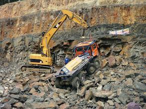 "Photo: 'Rescue"" of MAN truck H+M team  Nr 505"
