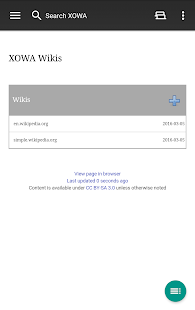 XOWA - Wikipedia Offline- screenshot thumbnail