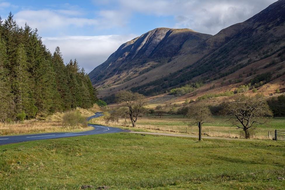 Highlands, Szkocja, Z Glasgow na Wyspę Skye