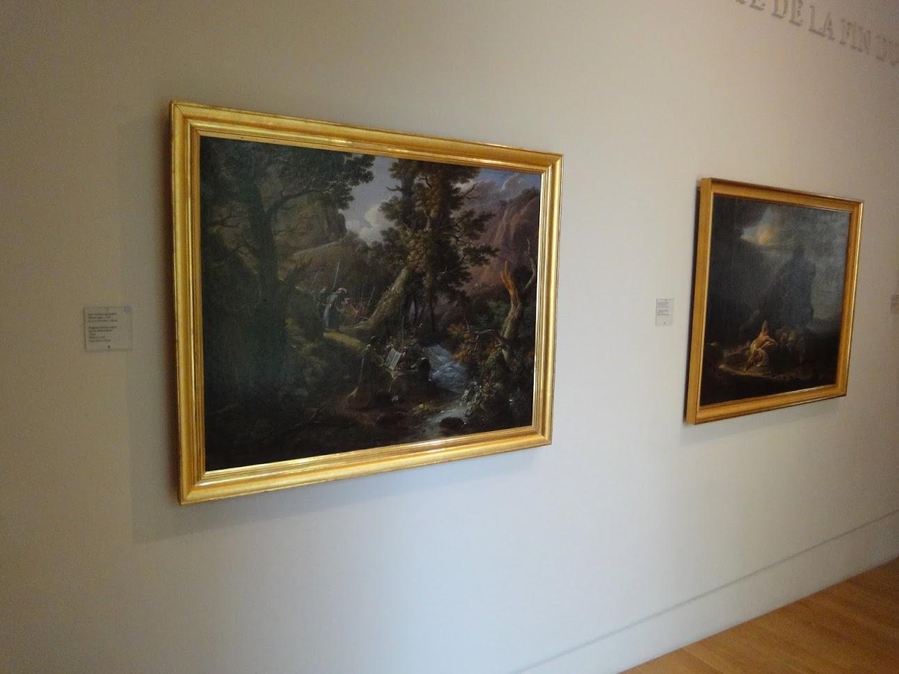 Oeuvres exposées au Musée Granet à Aix-en-Provence