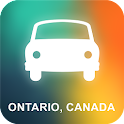 Ontario, Canada GPS Navigation icon