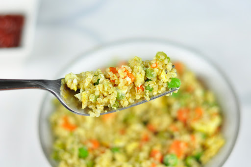quinoa egg fried rice
