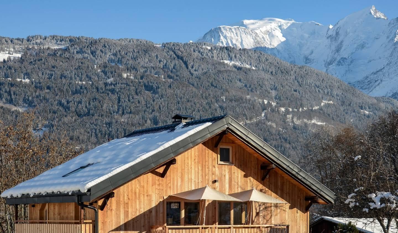 Chalet with terrace Saint-Gervais-les-Bains