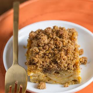 Pumpkin Noodle Kugel.