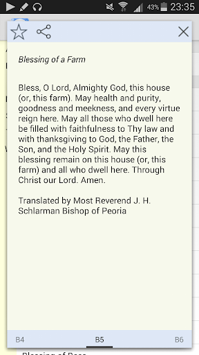 Prayers as Blessings
