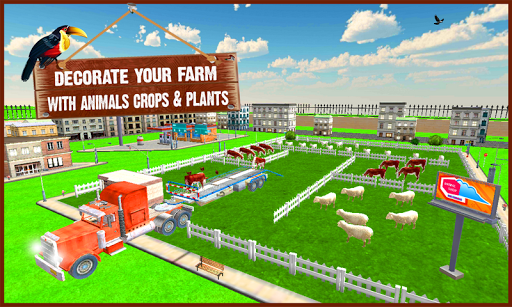 Village Farm Construction Sim