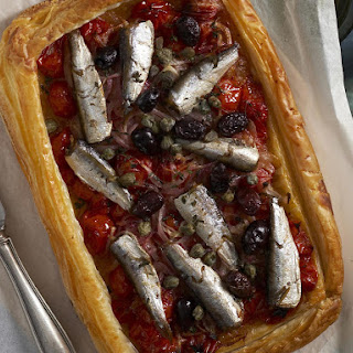 Sardine and Tomato Tart