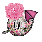 GO KB SKIN - LeopardFlowers