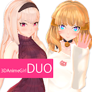 3DAnimeGirl DUO Yuna&Fam VenusPortrait for English