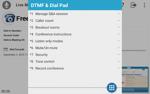 Free Conference Call 1.5.20.0 screenshots 19