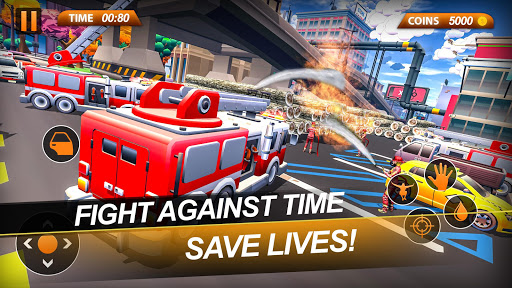 Fire Truck Emergency City Rescue: HQ Mission Sims 1.0 de.gamequotes.net 2