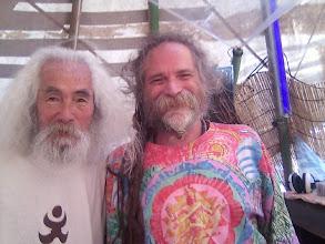 Photo: 2008.9 山水人でゴアギルとツーショット