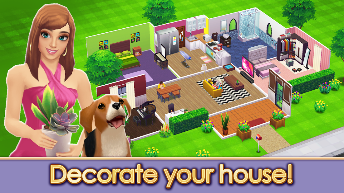 Home Street – Home Design Game Android App Screenshot