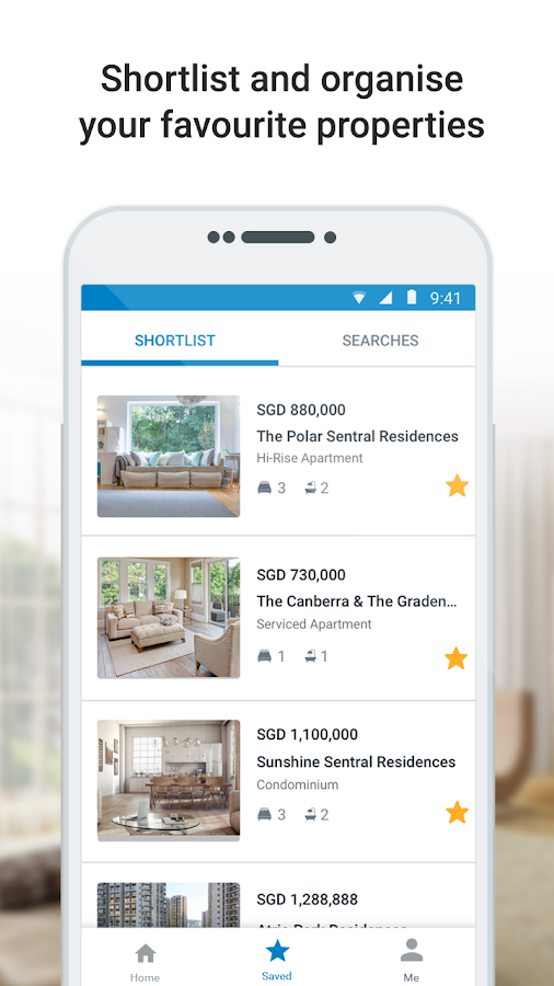 iProperty Singapore- screenshot