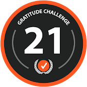 21 Day Gratitude Journal: Positivity based Diary