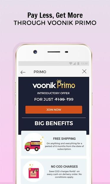 Voonik Online Shopping App screenshot 5
