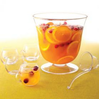 Spice Up Your Holiday Party With Our Favorite (Spiked) Cranberry Punch.