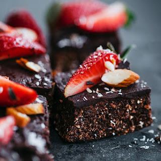 No-Bake Strawberry Brownies.