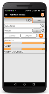 POS Mobile screenshot