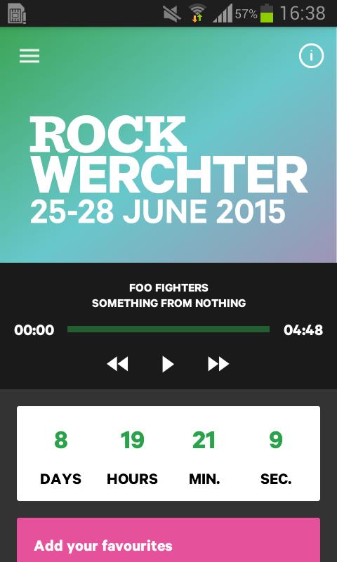 Rock Werchter 2015 - screenshot