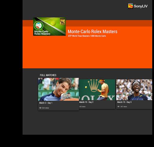 SonyLIV Live TV Sports Movies 1.1.6 screenshots 4