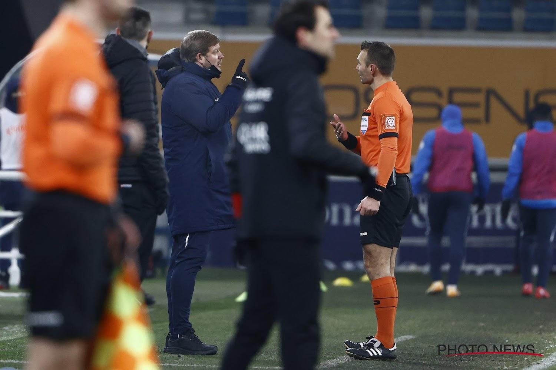 Hein Vanhaezebrouck désemparé après le partage contre Eupen:
