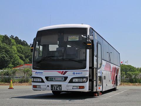 西鉄高速バス「フェニックス号」 9907 北熊本SAにて
