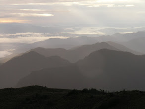 Photo: Looking down toward the foothills