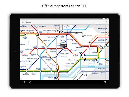 Tube Map London Underground 9