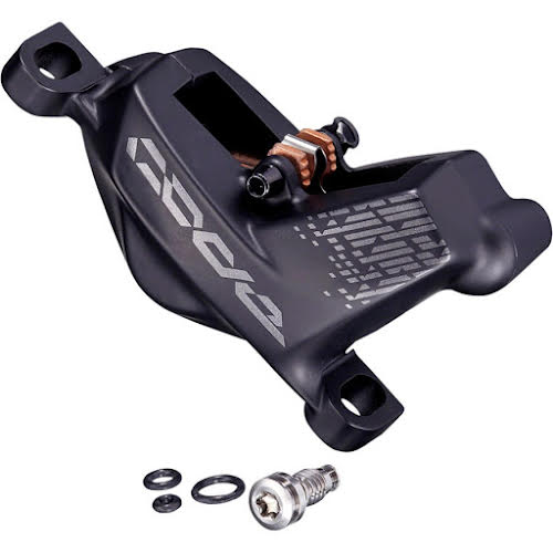 SRAM Replacement Code R/RSC RSC Caliper Assembly, Post Mount (non-CPS), Front/Rear, Diffusion Black