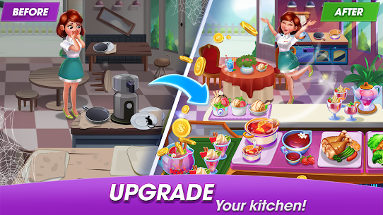 Cooking World: Cook,Serve & Design Your Resort! 4
