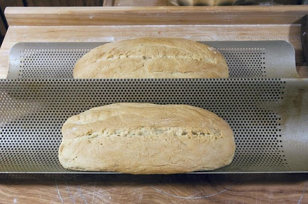 Allow the loaves to cool, before slicing, about 20 minutes.