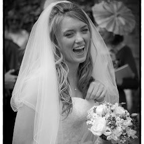 Happy Bride by Chris Boulton - Wedding Bride