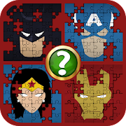 Guess Name That Superhero Puzzle Quiz