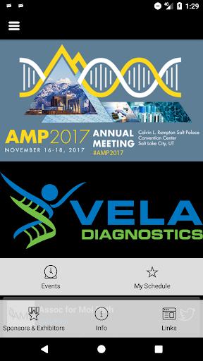 AMP Education Events screenshot