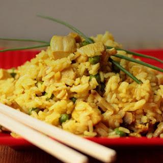 Thai Jasmine Rice with Chicken.