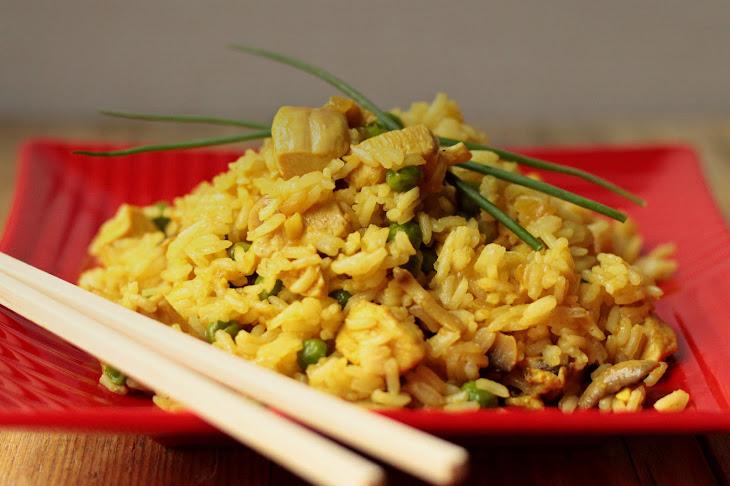 Thai Jasmine Rice with Chicken