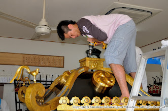 Photo: 【平成20年(2008) 宵々宮】  本年は大人神輿の露盤を修理。