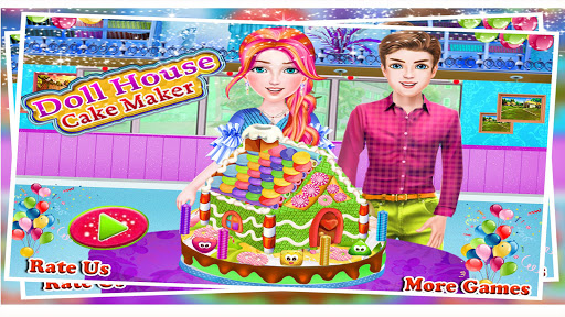Doll House Cake Maker 1.0 7