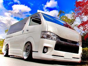 ハイエースバン TRH200V H30  S-GL DPのカスタム事例画像 ogu☆aceさんの2020年11月24日04:22の投稿