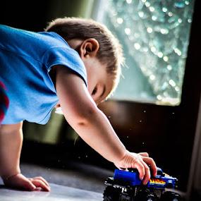My Truck by Graeme Carlisle - Babies & Children Children Candids
