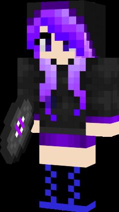 Cute Ender Girl Nova Skin