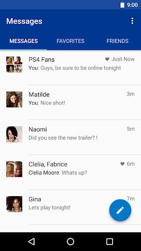 PlayStation®Messages Screenshot