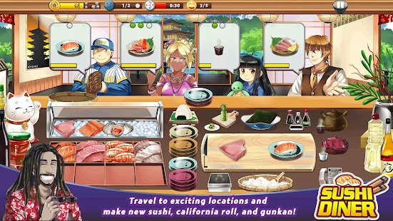 Sushi Diner - Fun Cooking Game - náhled