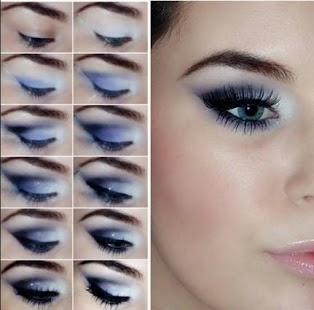 Oči Make-up Krok za krokem - náhled