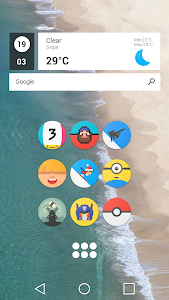 Pixel Icon Pack-Nougat Free UI screenshot 4