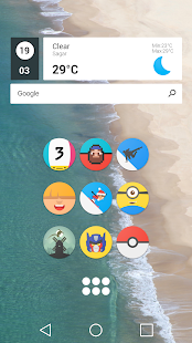 Pixel Icon Pack-Nougat Free UI- screenshot thumbnail